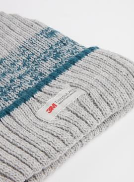 3M Grey Knitted Hat