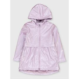 Purple Pearlescent Hooded Mac