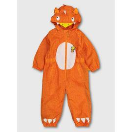 The Gruffalo Zog Orange Puddlesuit - 6-7 years