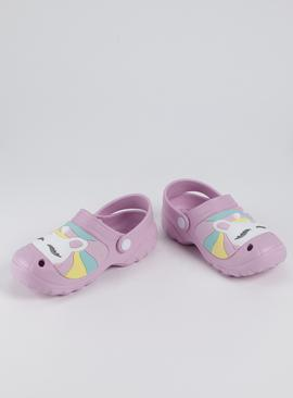 Pastel Unicorn Clogs
