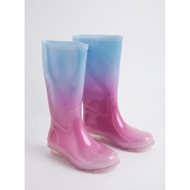Blue & Pink Ombré Wellies