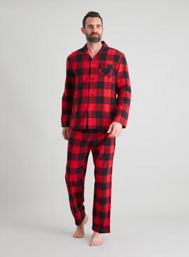 Red & Black Check Traditional Pyjamas