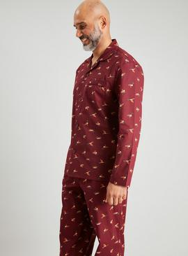 Duck Print Traditional Pyjamas