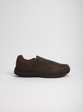 Sole Comfort Brown Slip On