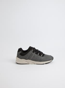 Sole Comfort Grey Lace Up Trainer