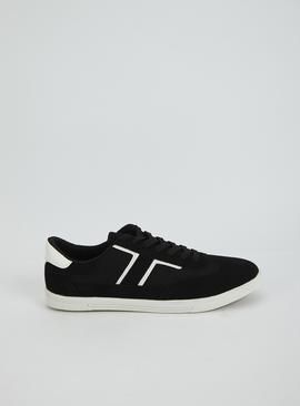 Black Retro Trainer