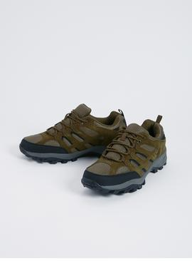 Sole Comfort Khaki Hiker Shoes