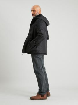 Black Eco Thermolite Padded Coat