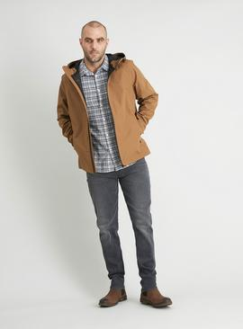Waterproof Zip-Through Hooded Mac
