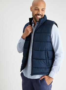Navy Eco Thermolite Shower Proof Gilet