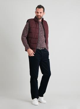 Burgundy Padded Eco Thermolite Gilet
