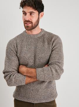 Stone Twist Knit Jumper