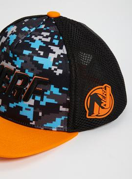 Nerf Black & Orange Cap - One Size