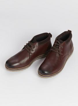 Sole Comfort Brown Chukka Boot