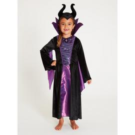 Disney Maleficent Purple 2-Piece Costume - 3-4 Years