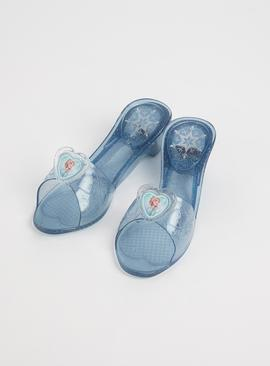 RUBIE'S Disney Frozen 2 Elsa Light Up Jelly Shoes - One Size