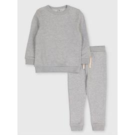 Grey Sweatshirt & Joggers Set