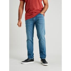 Light Wash Ultimate Comfort Slim Fit Jeans With Stretch