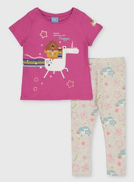 Hey Duggee Pink Jersey Top & Legging
