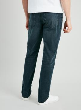 Grey Texture Wash Slim Fit Denim Jeans
