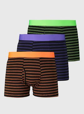 Bright Stripe Trunks 3 Pack