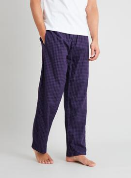 Gingham & Check Pyjama Bottoms 2 Pack