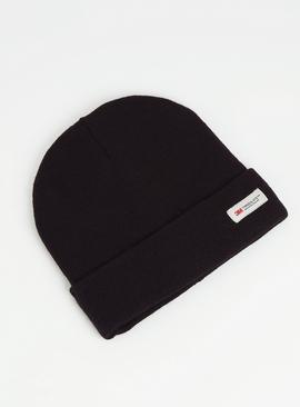 3M Black Knitted Beanie Hat - One Size