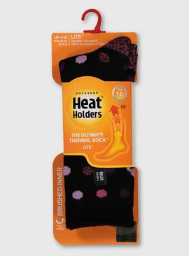 HEAT HOLDERS Spotted Socks - 4-8