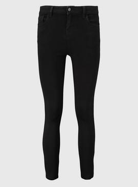 PETITE Black Skinny Jeans With Stretch