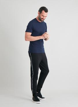 Navy Thermal Short Sleeve T-Shirt