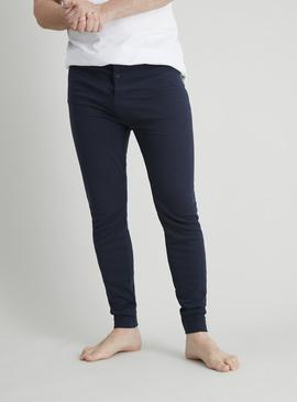Navy Thermal 'Medium Warmth' Long Pants