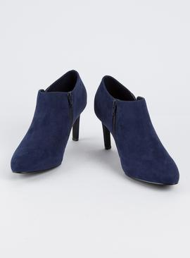 Sole Comfort Navy Ankle Boot