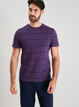 Purple Breton Stripe Pyjamas