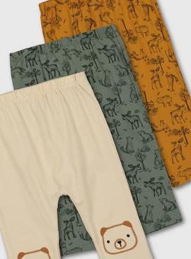 Bear Leggings 3 Pack