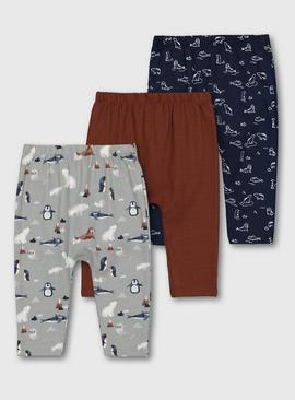 Polar Friends Leggings 3 Pack
