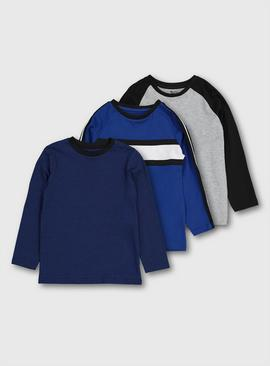 Blue & Grey T-Shirts 3 Pack
