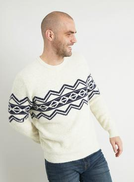 Cream Navajo Pattern Jumper