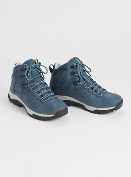 Sole Comfort Blue Hiker Boots