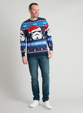 Christmas Mini Me Star Wars Sequin Jumper