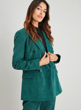 Dark Green Corduroy Jacket
