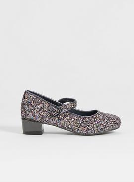 Glittery Heeled Party Shoes
