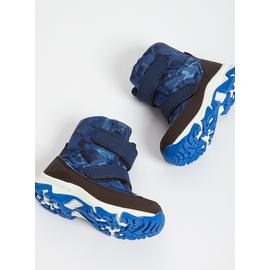 Camouflage Print Snow Boot