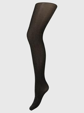 Black Sparkle 40 Denier Opaque Tights