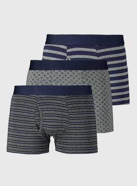 Star & Stripe Trunks 3 Pack