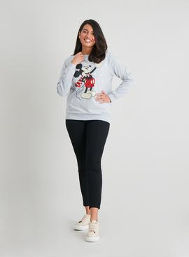 Christmas Disney Mickey Mouse Grey Sweatshirt