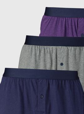 Preppy Marl Boxer 3 Pack