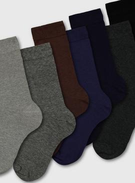 Mixed Stay Fresh Socks 7 Pack