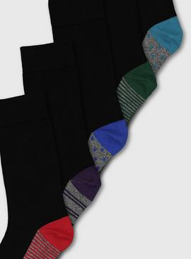 Stripe & Spot Stay Fresh Socks 5 Pack