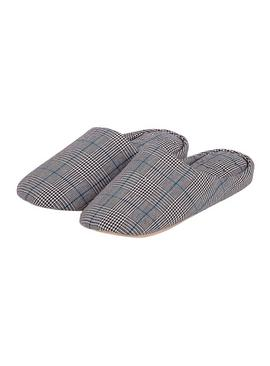Check Pillowstep Mule Slippers
