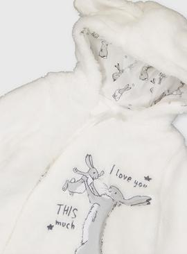 Guess How Much I Love You Cream Pramsuit